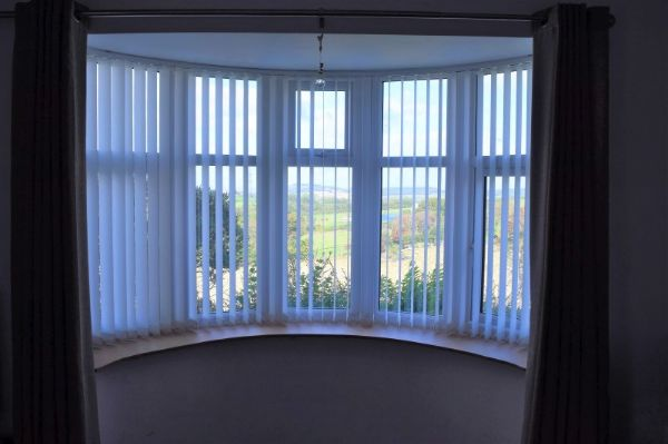 Curved Vertical Blinds